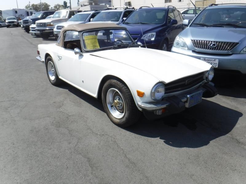 Triumph TR6 1974 price $8,500