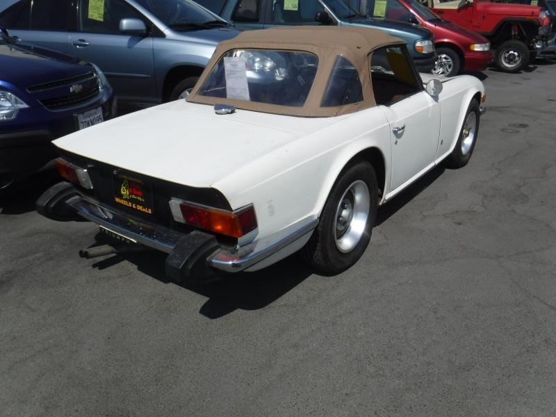 Triumph TR6 1974 price $7,995