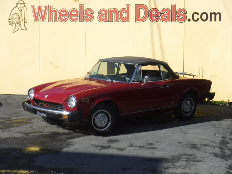 Fiat 124 1975 price $4,850