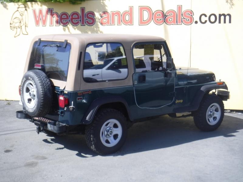 Jeep Wrangler 1995 price $5,200