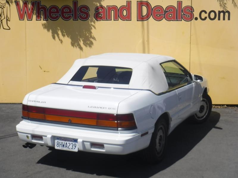 Chrysler Lebaron 1995 price $2,750