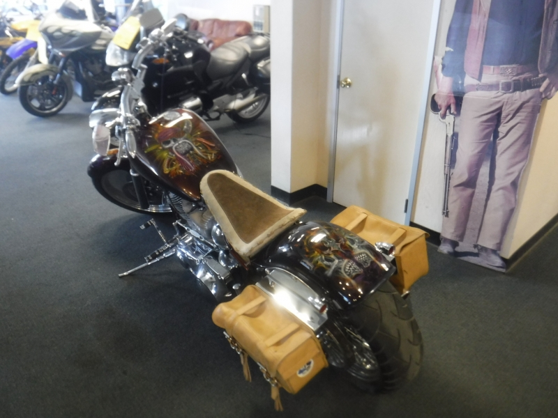 Harley Davidson Custom soft tail 2012 price $15,000