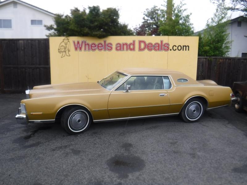 Lincoln Continental 1974 price $7,750
