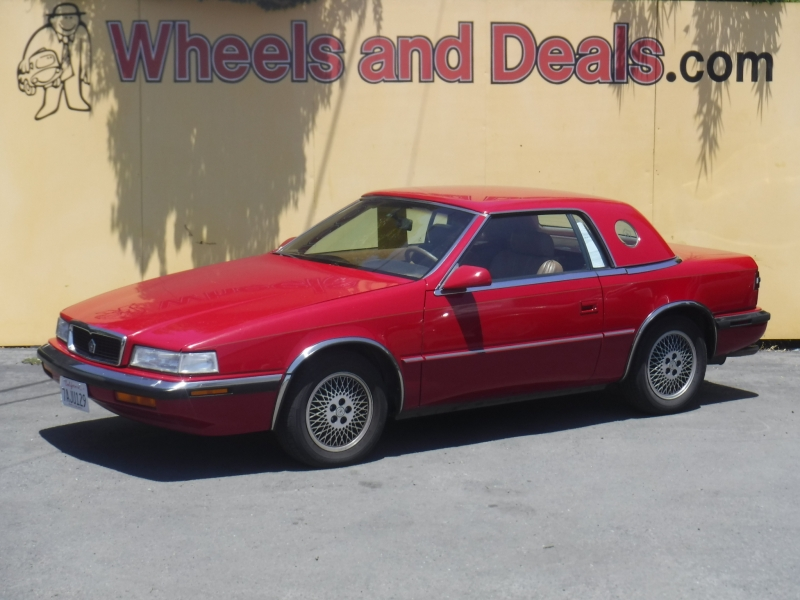 Maserati Chrysler 1989 price $9,499