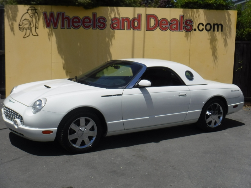Ford Thunderbird 2002 price $16,000