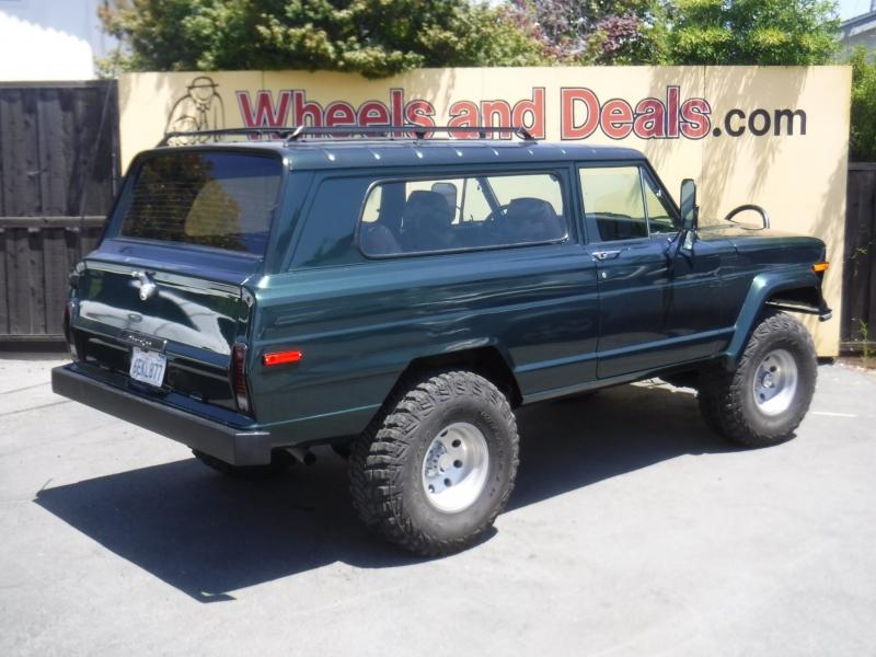 Jeep Cherokee 1974 price $25,000
