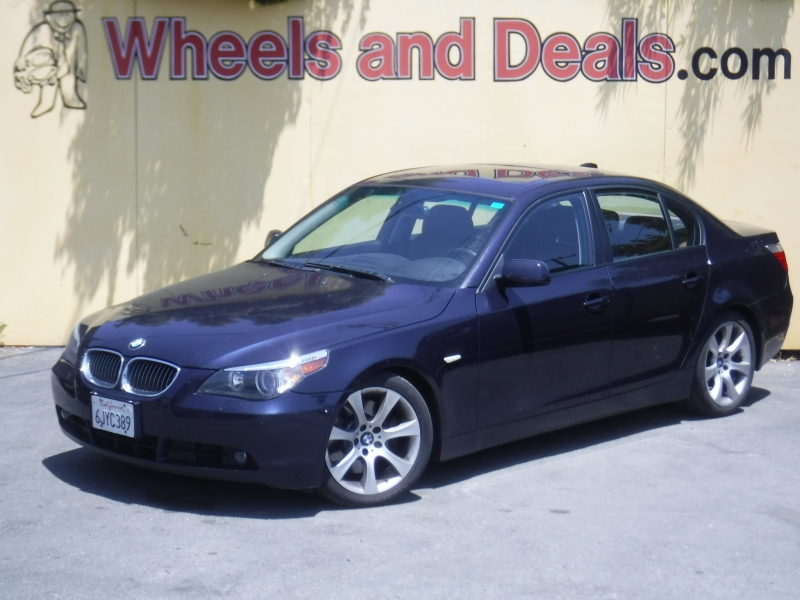BMW 550i 2007 price $4,650
