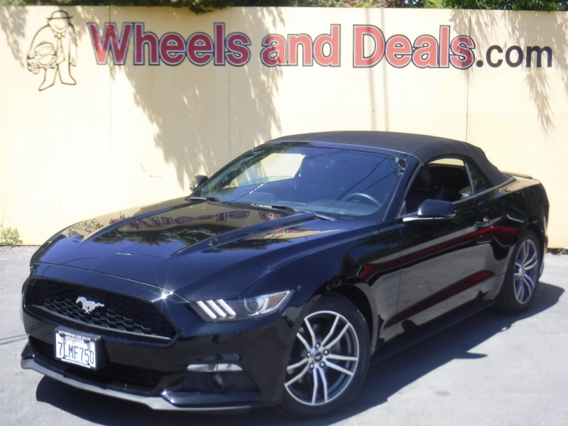 Ford Mustang 2015 price $16,850