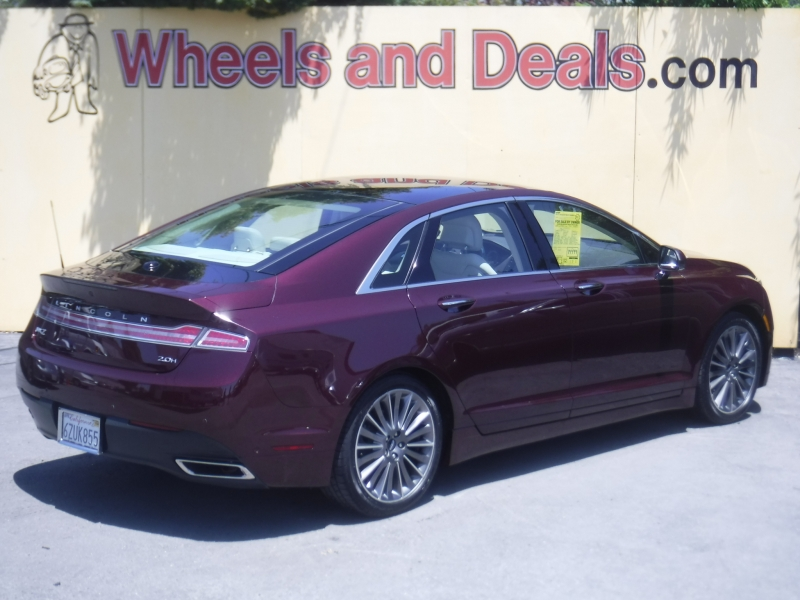 Lincoln MKZ 2013 price $15,900