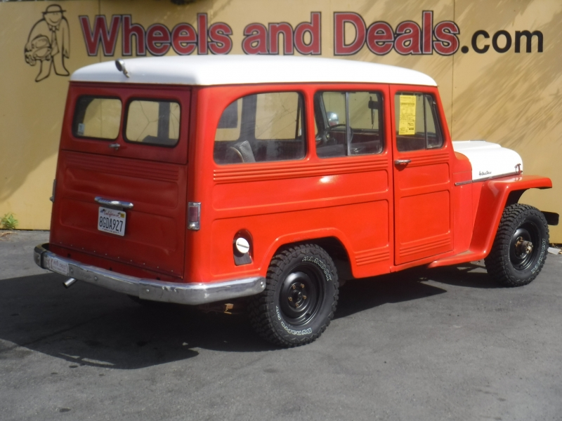 Willys Overland 1955 price $7,500