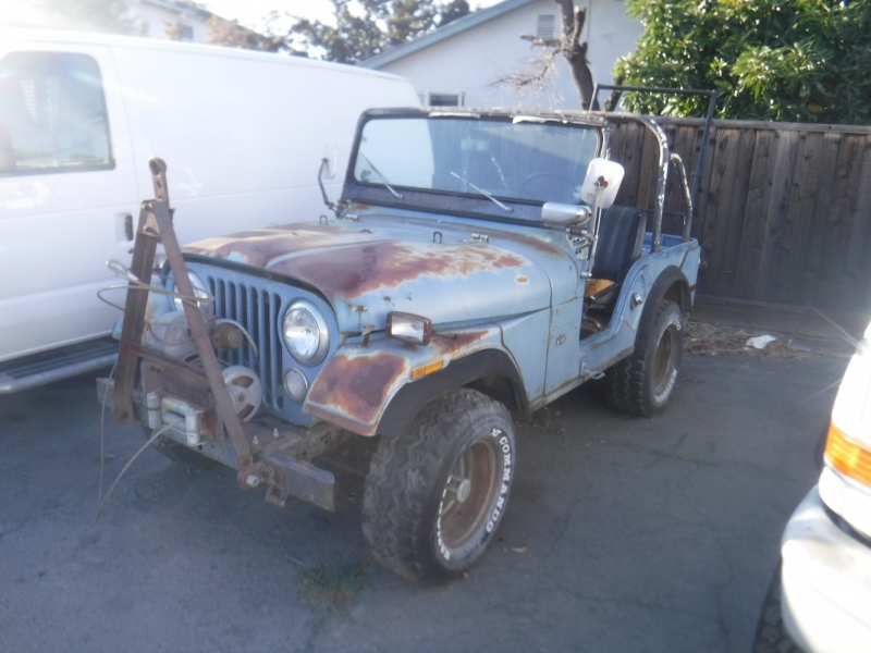Jeep CJ5 1972 price $3,995