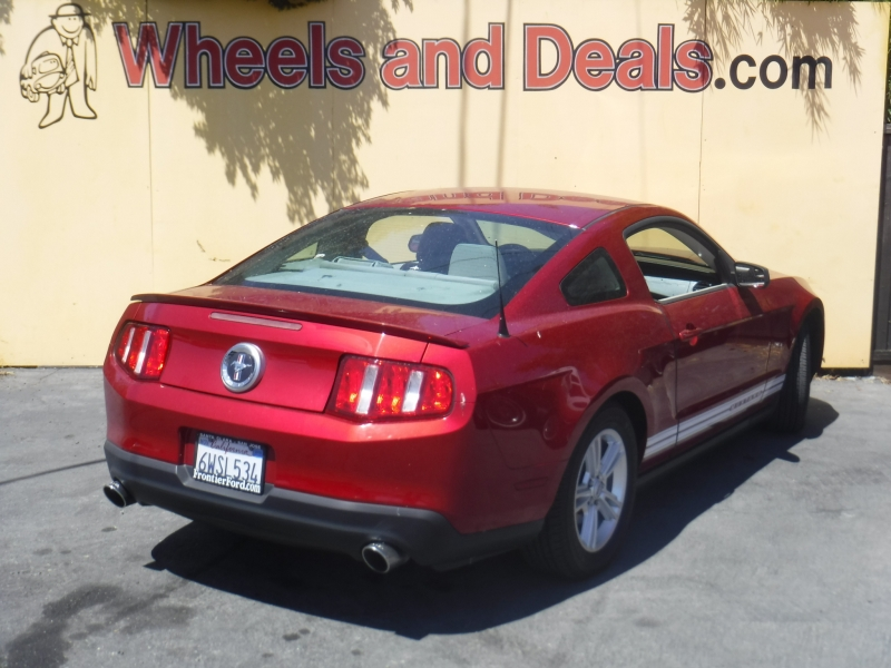 Ford Mustang 2012 price $9,600