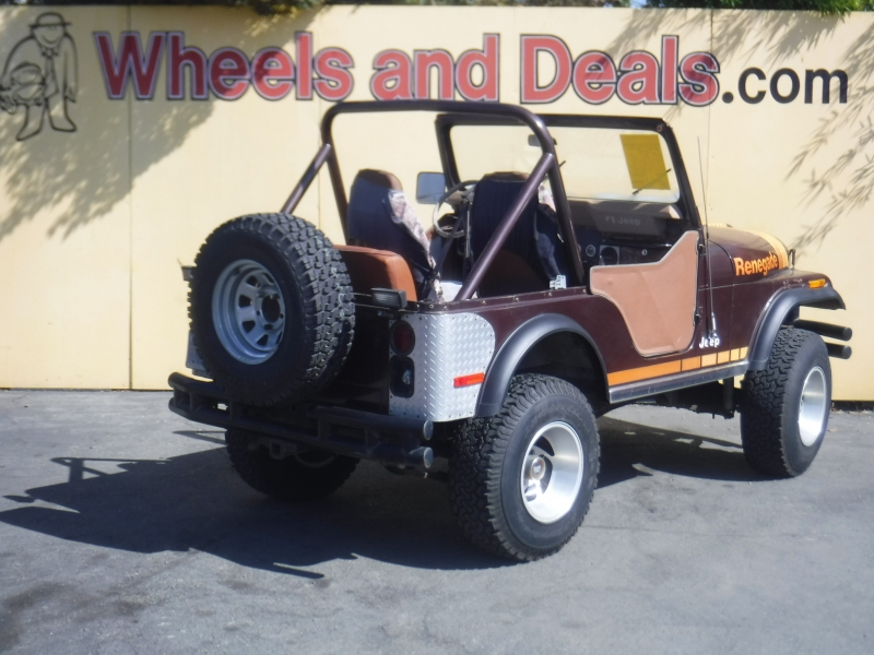 Jeep CJ5 1980 price $5,499