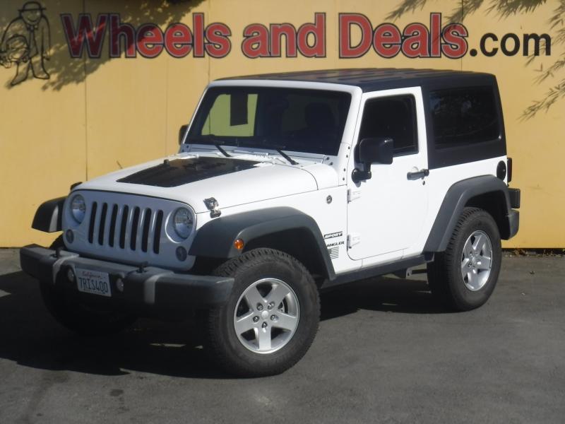 Jeep Wrangler 2016 price $23,500
