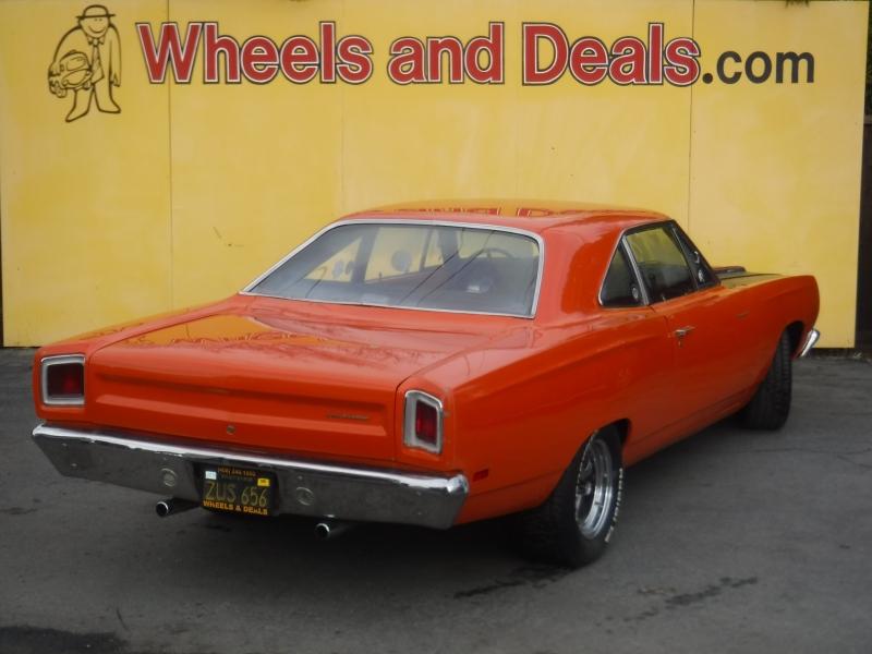 Plymouth Roadrunner 1969 price $28,500