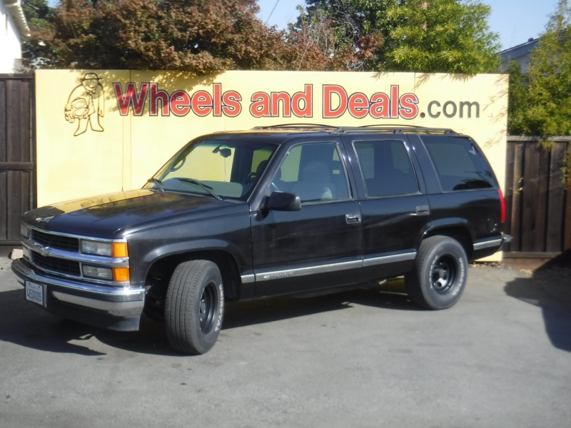 Chevrolet Tahoe 1999 price $7,500