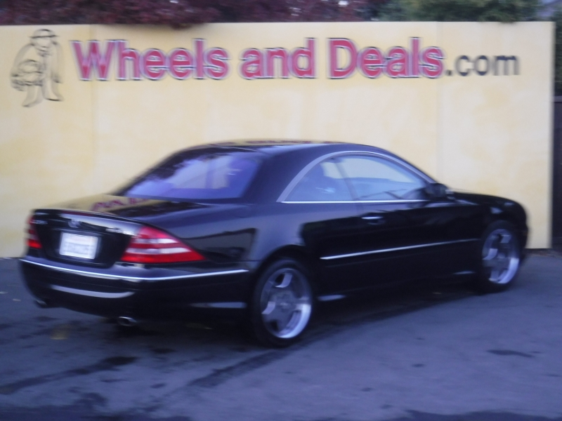 Mercedes-Benz CL55 2002 price $4,499