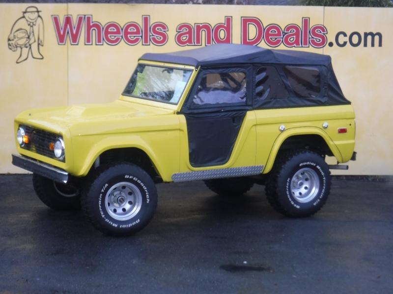 Ford Bronco 1970 price $27,000