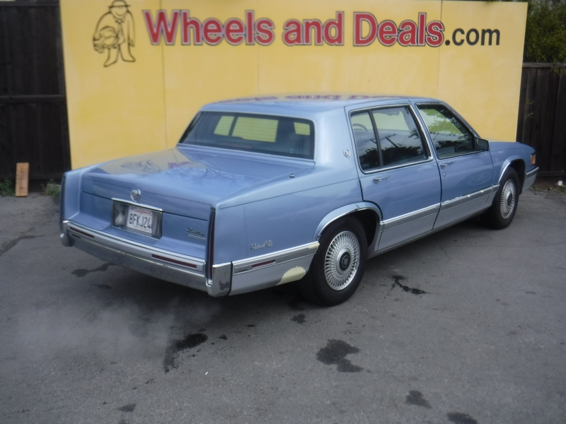 Cadillac DeVille 1993 price $3,000