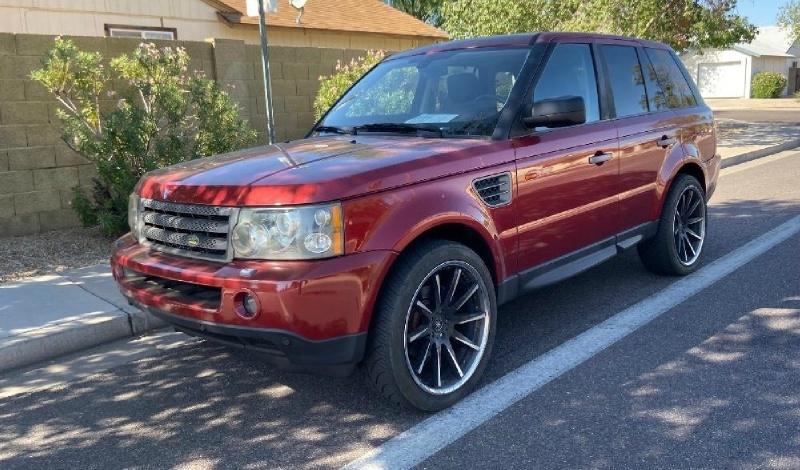 Land Rover Range Rover Sport 2008 price $8,995