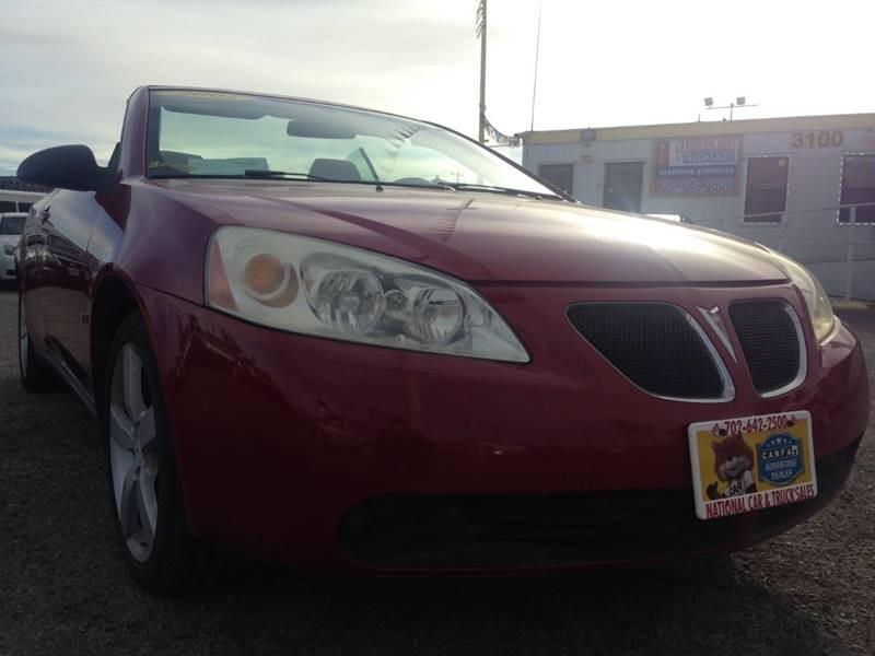 Pontiac G6 2007 price $6,995