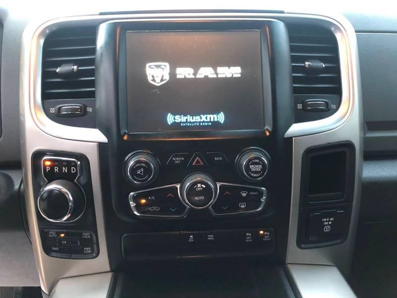 RAM Ram Pickup 1500 2017 price $16,500