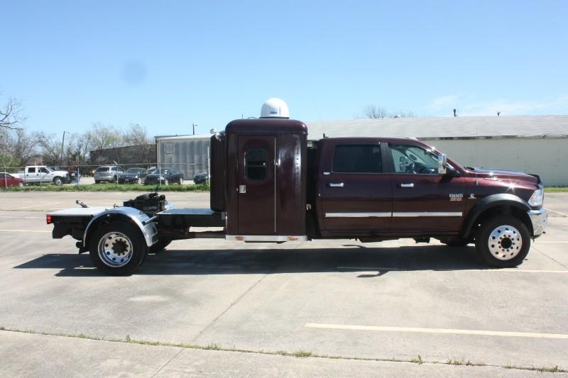 2012 Dodge Ram 4500 Laramie Crewcab Sleeper Dually Diesel