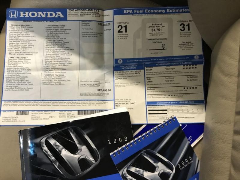 HONDA ACCORD 2008 price $9,500