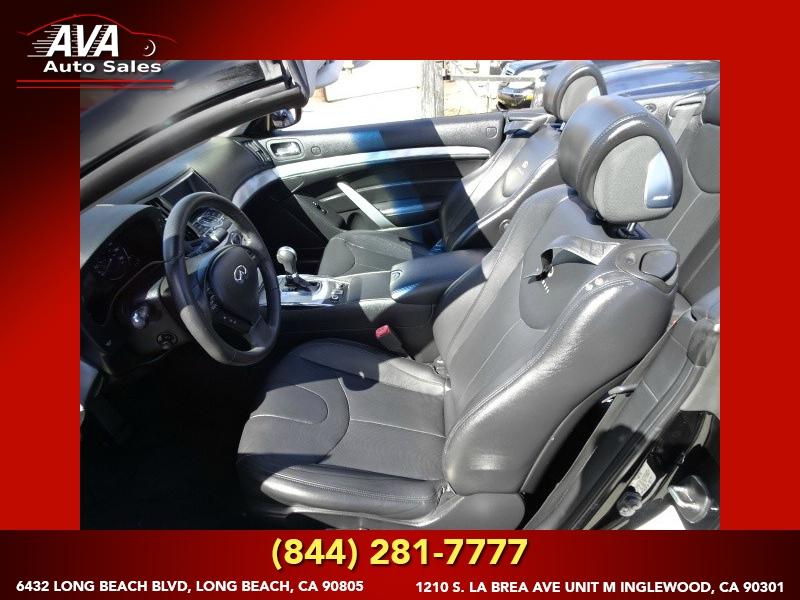 Infiniti G37 Convertible 2010 price $12,995