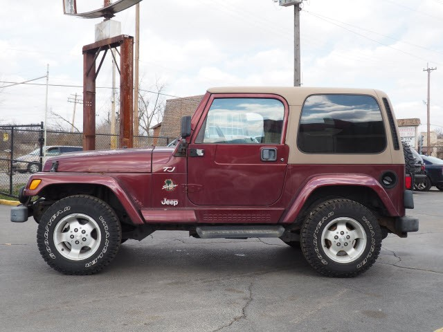 Jeep Wrangler 2002 price Call for Pricing.