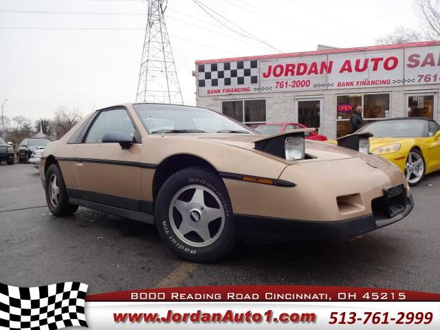 Pontiac Fiero 1986 price $8,995