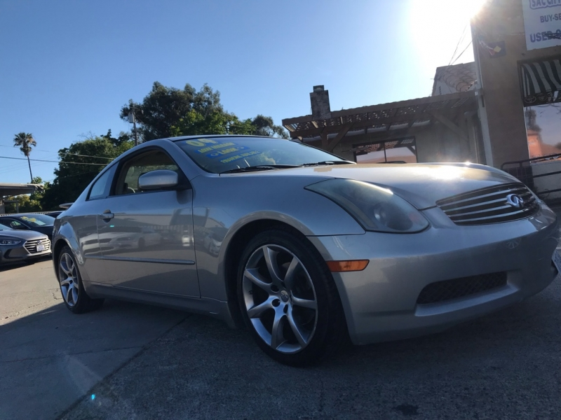 Infiniti G35 Coupe 2004 price $8,999