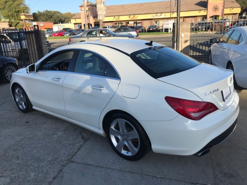 Mercedes-Benz CLA 2016 price $17,999