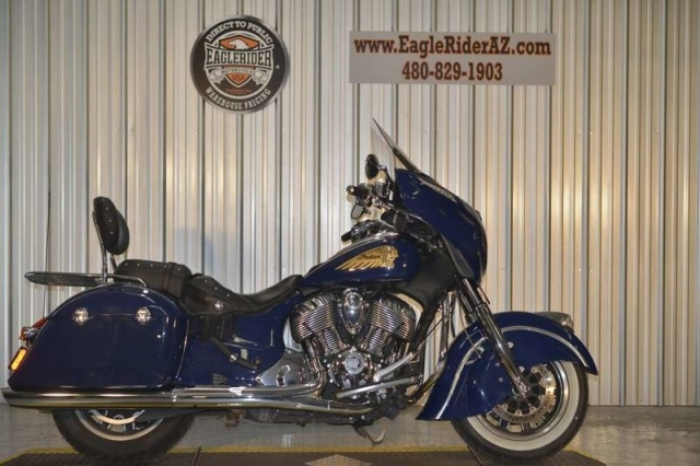 2014 Indian Motorcycle Chieftain� Springfield Blue
