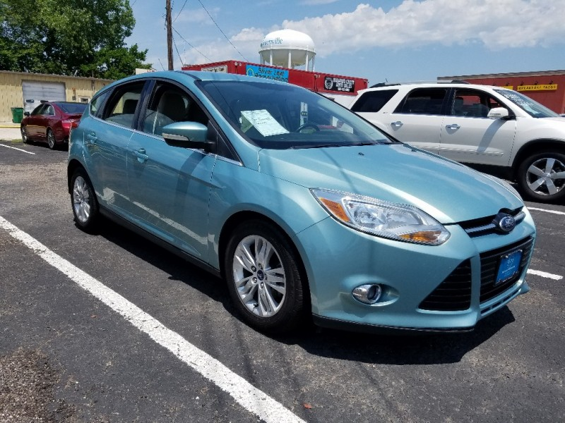 2012 Ford Focus 5dr HB SEL - Inventory | Silver Leaf ...