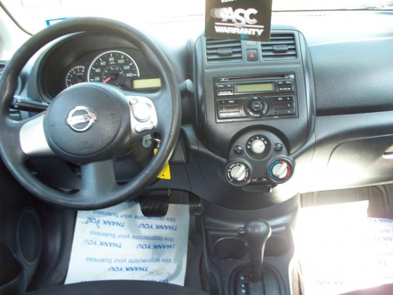 Nissan Versa 2014 price $0