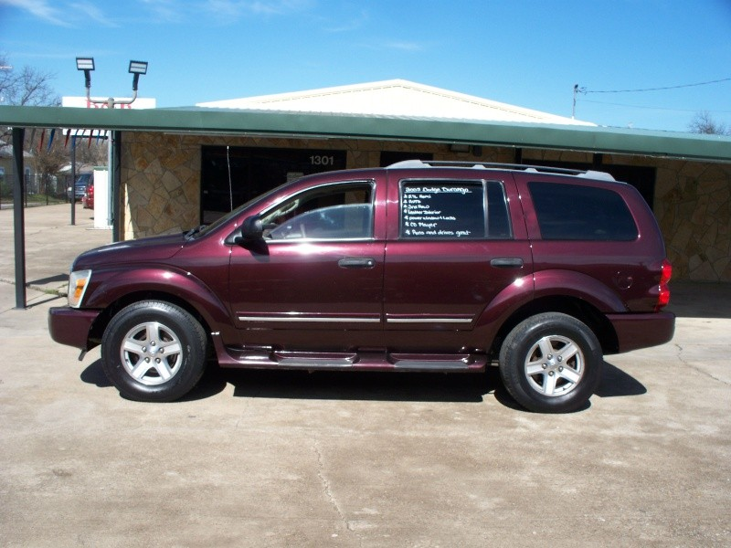 2005 dodge durango 4dr limited inventory b r auto auto dealership in cleburne texas. Black Bedroom Furniture Sets. Home Design Ideas