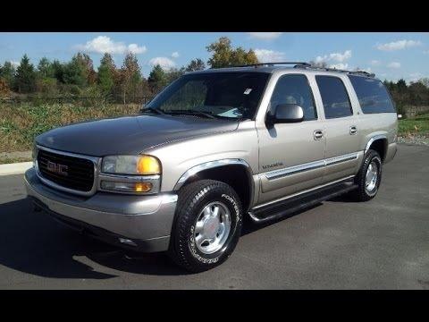 GMC Yukon XL 2002 price $3,300 Cash