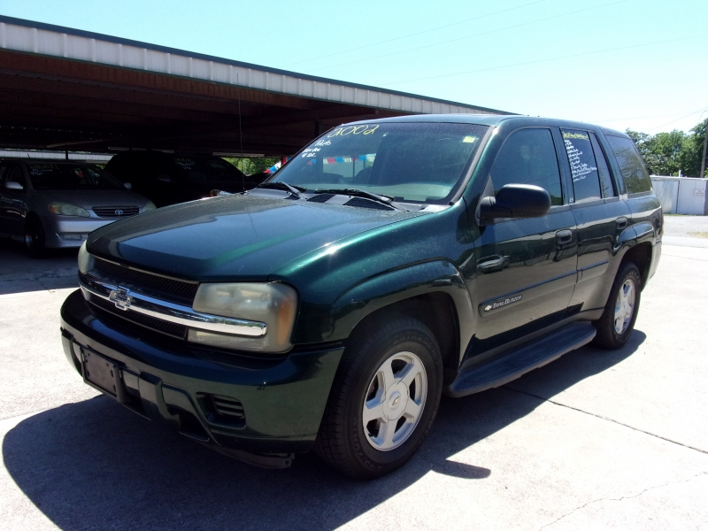 Chevrolet TrailBlazer 2002 price $0