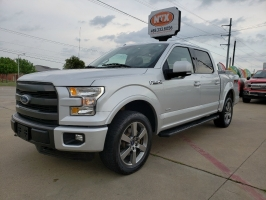 Ford F-150 LARIAT 4X4 FX4 OFF ROAD ECOBOOST 2015