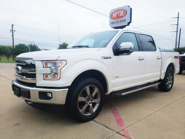 2015 Ford F-150 LARIAT 4X4 FX4 OFF ROAD ECOBOOST