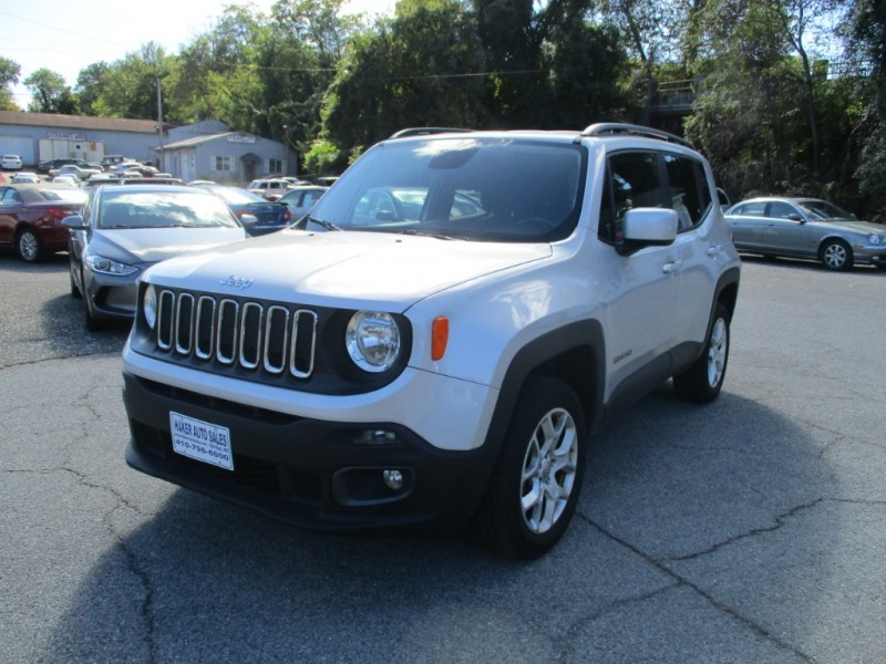 Jeep Renegade 2016 price $16,975