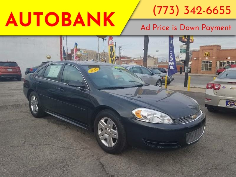 Chevrolet Impala Limited 2014 price $1,500 Down