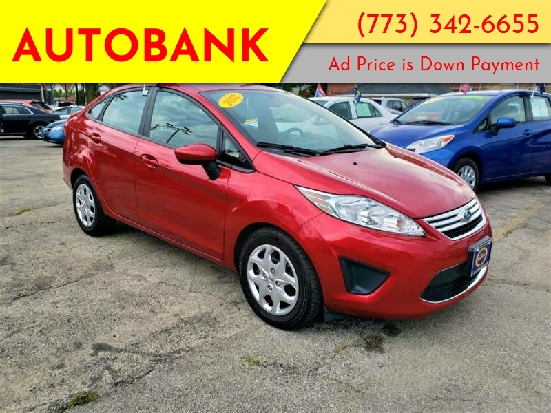 Ford Fiesta 2012 price $999 Down