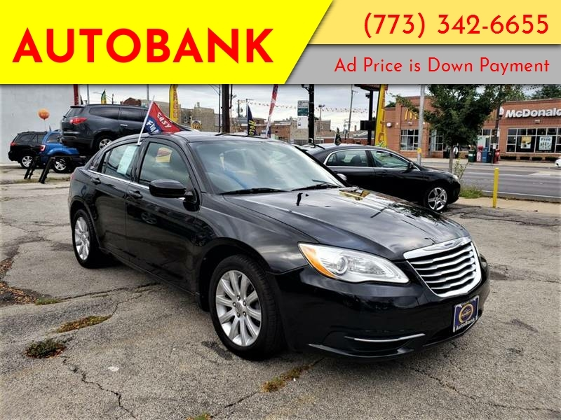 200 Down Payment Car >> 2013 Chrysler 200 Touring 4dr Sedan