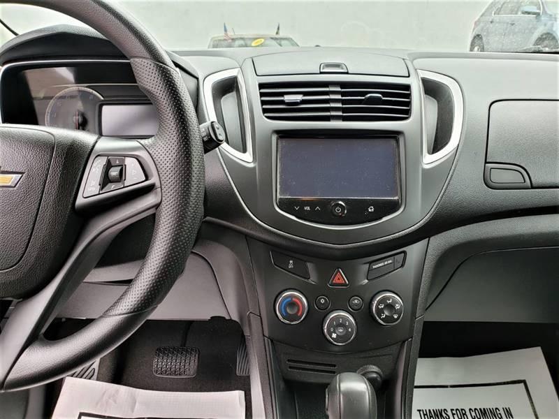 Chevrolet Trax 2016 price 1000 down