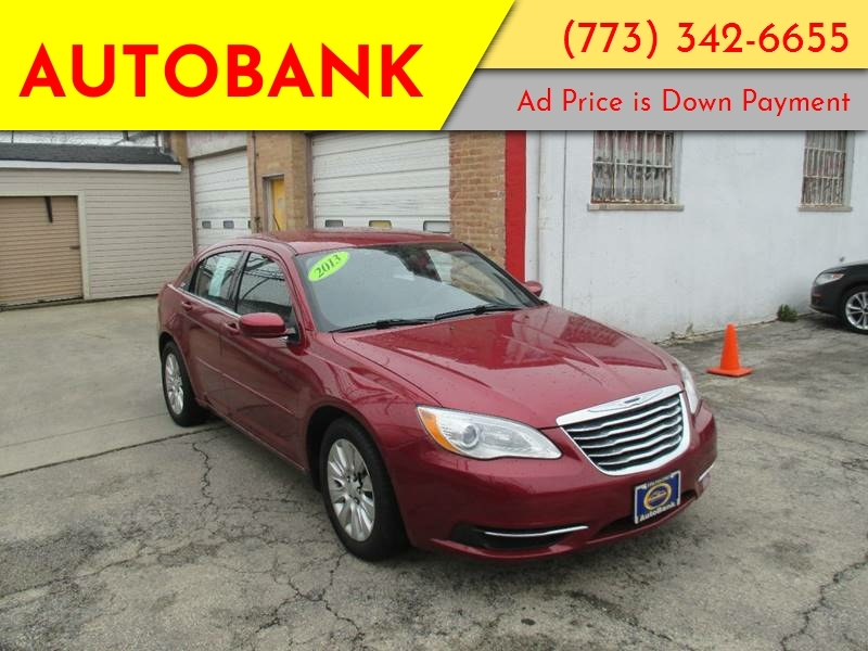 200 Down Payment Car >> 2013 Chrysler 200 Lx 4dr Sedan