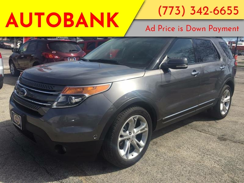 Ford Explorer 2012 price $1,500 Down