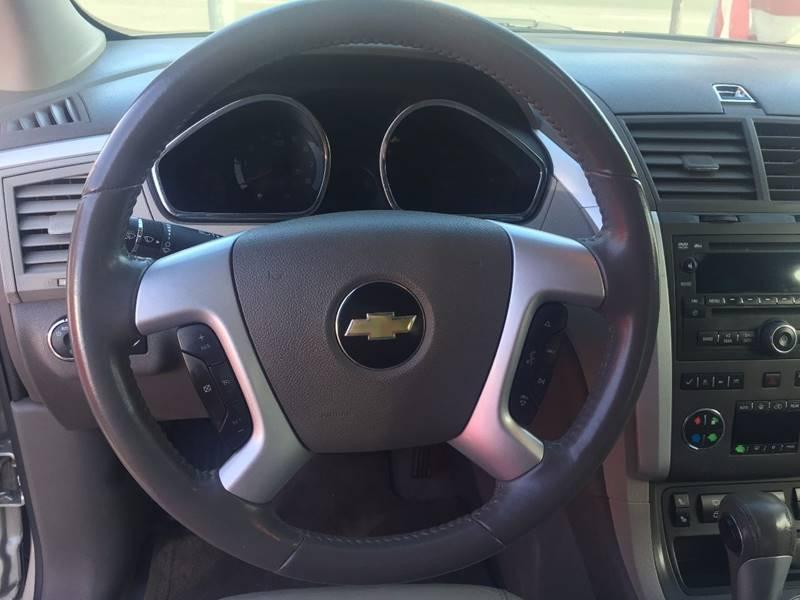 Chevrolet Traverse 2010 price $1,500 Down