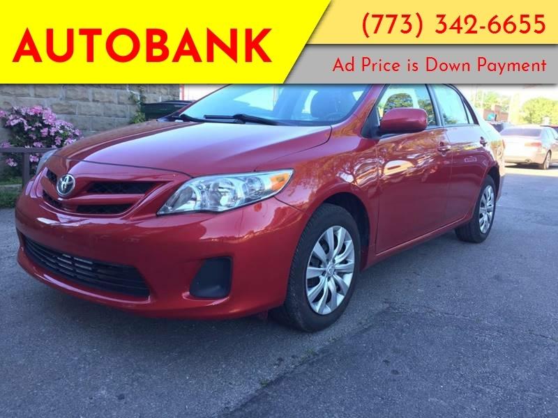 Toyota Corolla 2012 price $1,200 Down